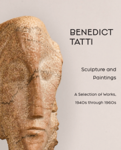Catalogue cover for Benedict Tatti, Sculpture and Paintings, A Selection of Works, 1940s through 1960s